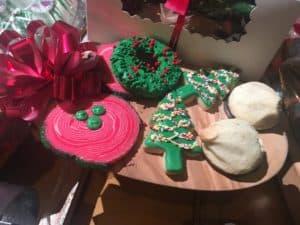 Disneyland Holiday desserts