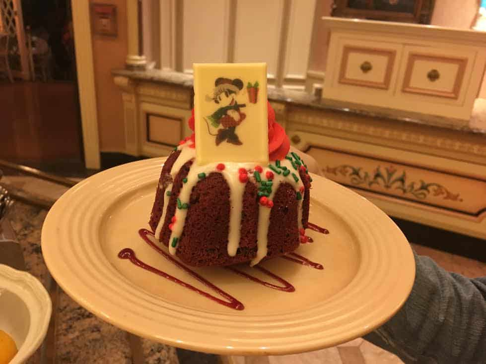Disneyland holiday cake