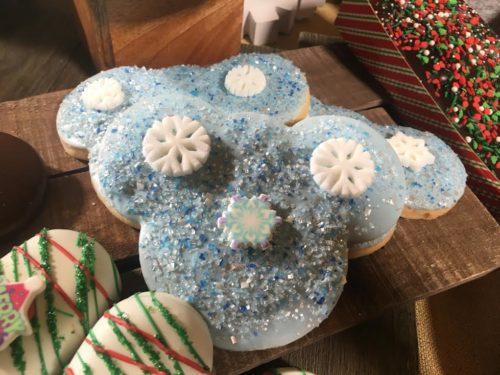 Disneyland holiday cookie