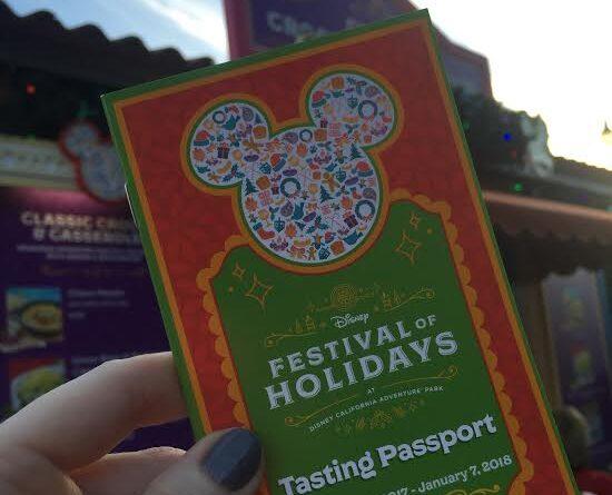 Festival of Holidays tasting passport