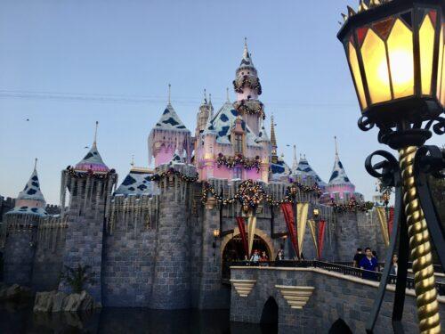 Sleeping Beauty Christmas Castle