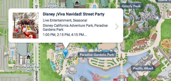 Where is Disney Viva Navidad