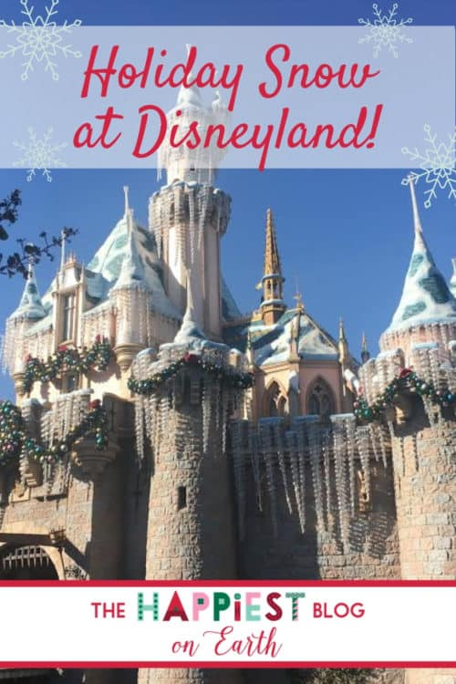 Find snow at Disneyland! See where to catch magical snowfall at <a href=