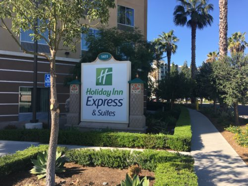 holiday inn express disneyland