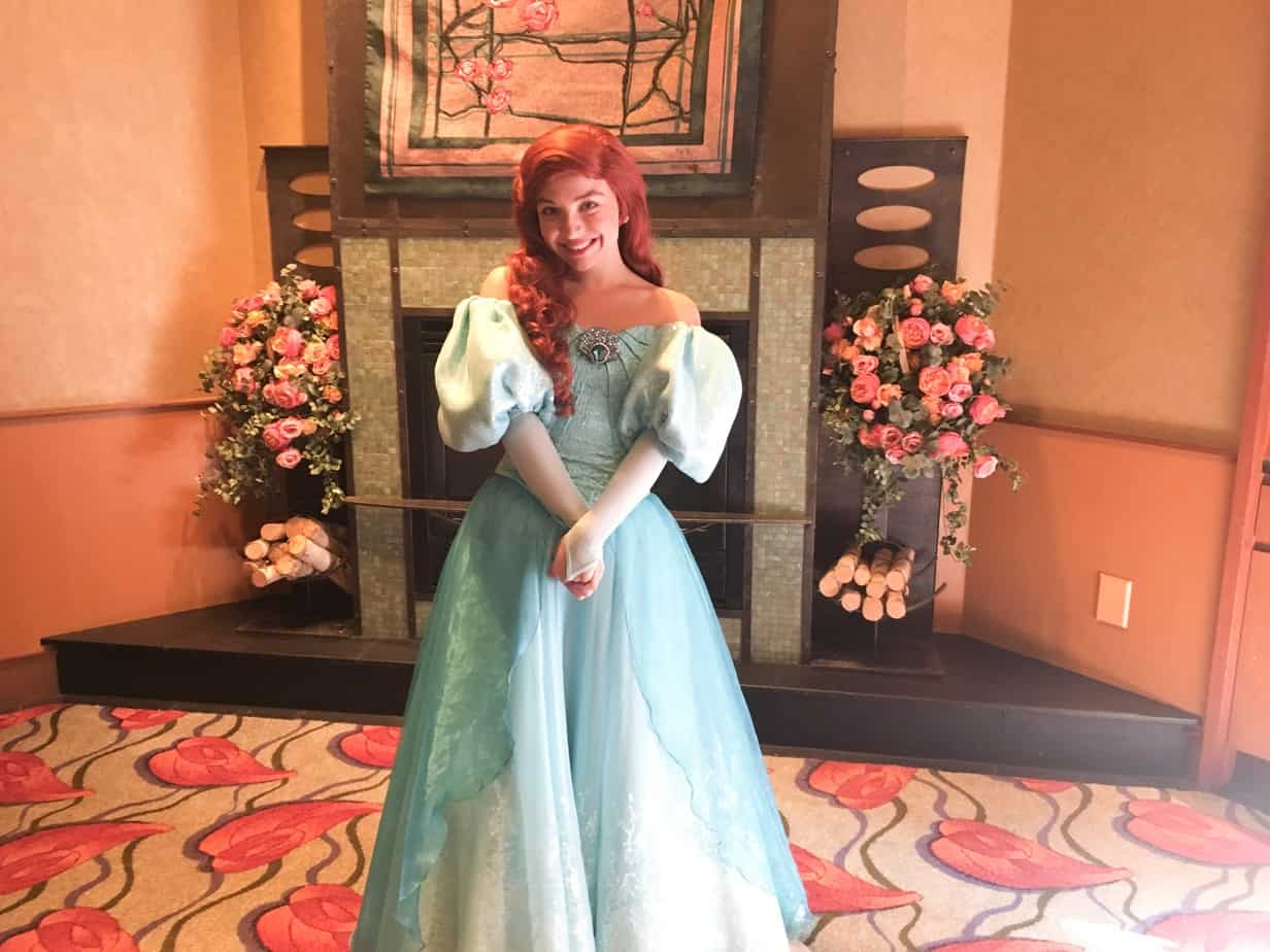 Ariel Princess breakfast