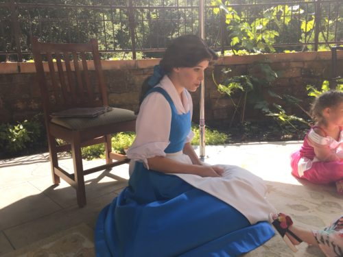 Belle Story Time Disneyland