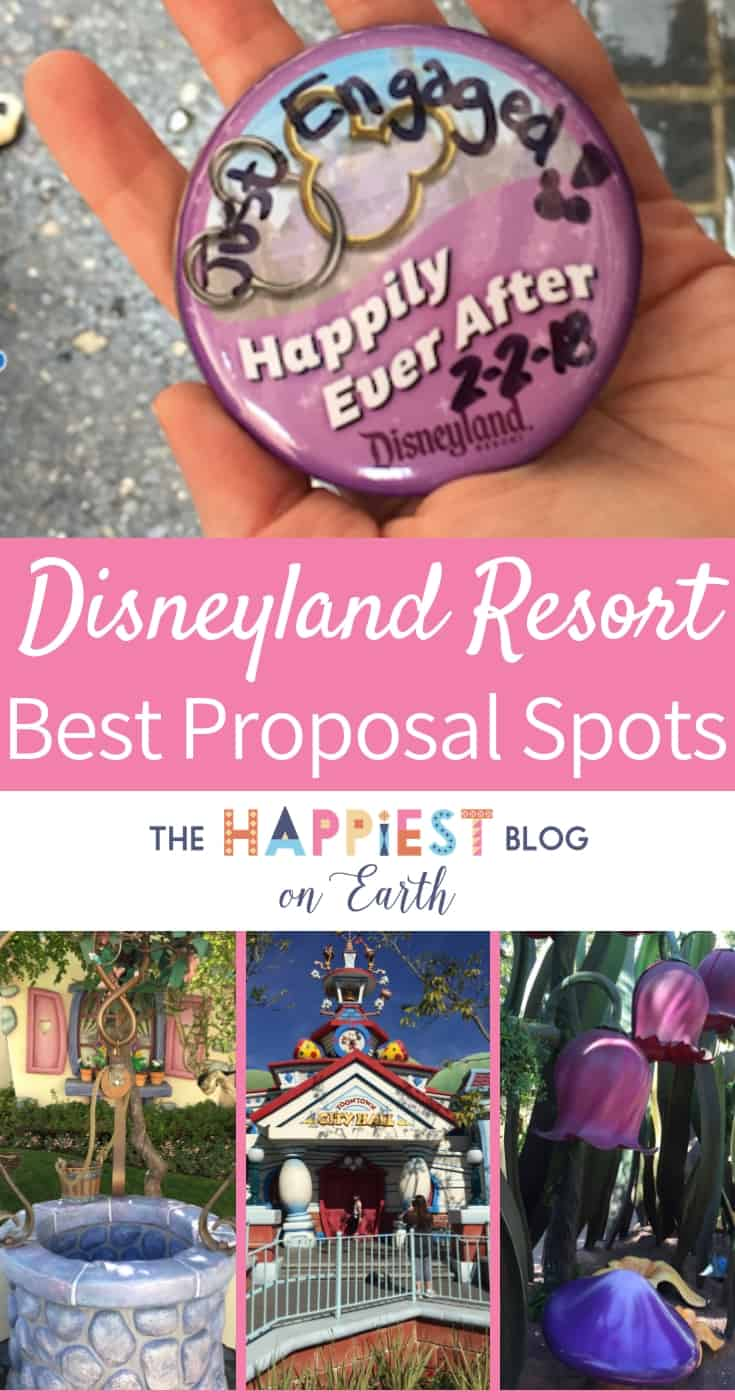 Best spots to propose at Disneyland. Romantic spots to propose, Disneyland proposal tips and more. #DisneyProposal #DisneylandProposal