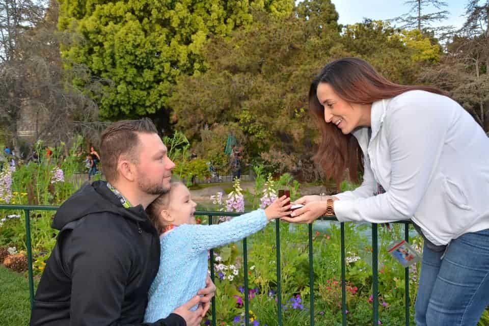 Disneyland proposal spots