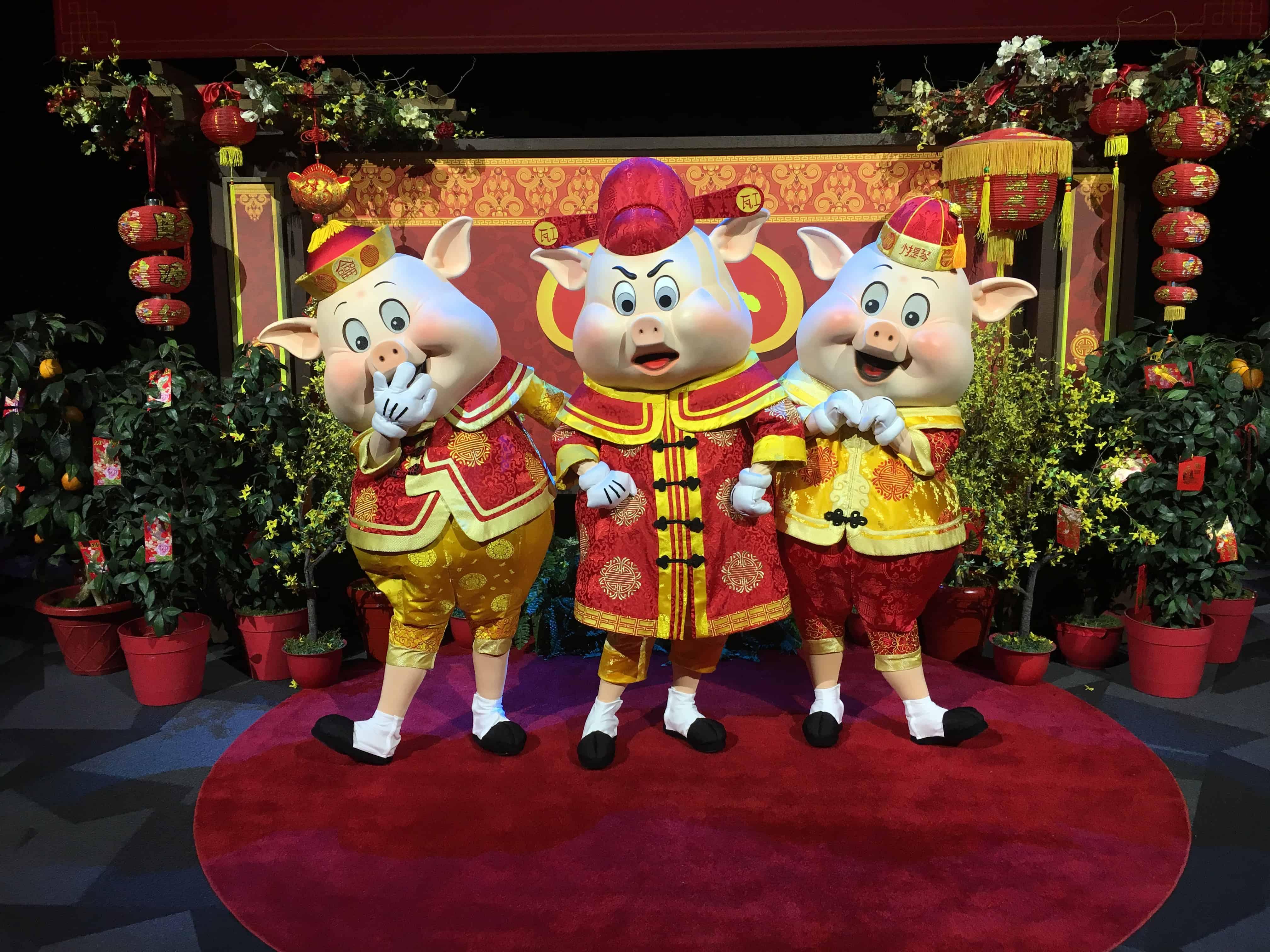 Disney three little pigs