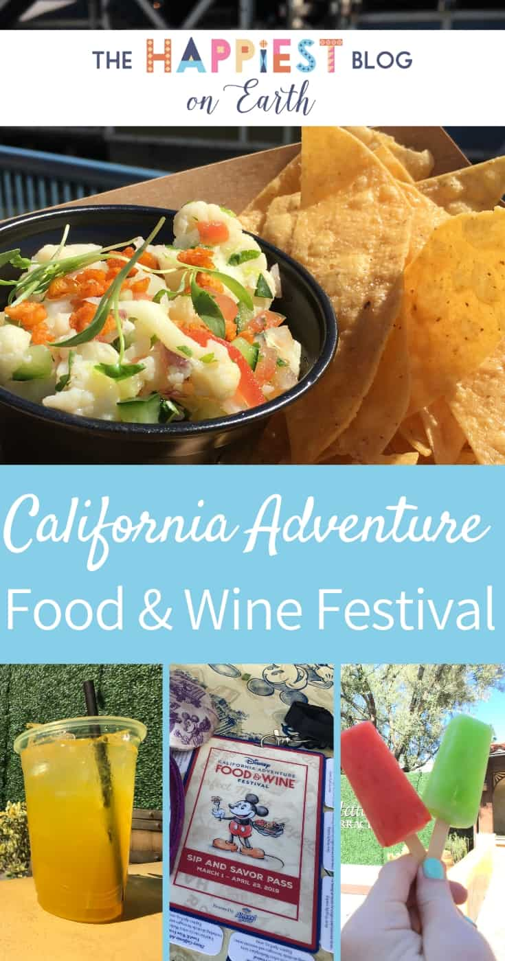 Disneyland Food and Wine Festival 2019. All the food, all the drinks and more Disneyland tips for Spring!