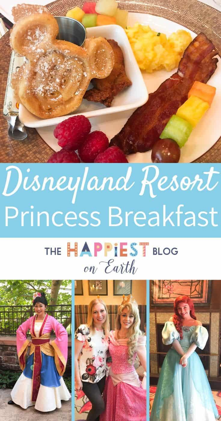 Disneyland Princess Breakfast