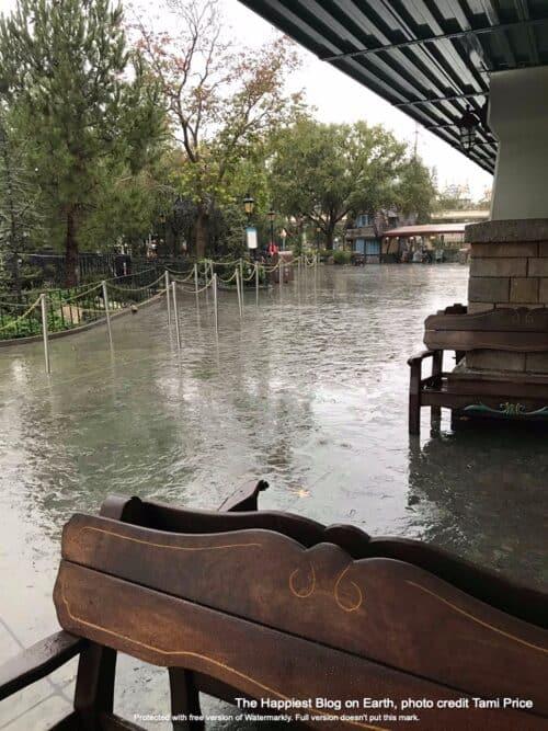 Disneyland Rainy Day