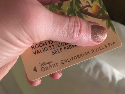 Grand Californian Hotel key