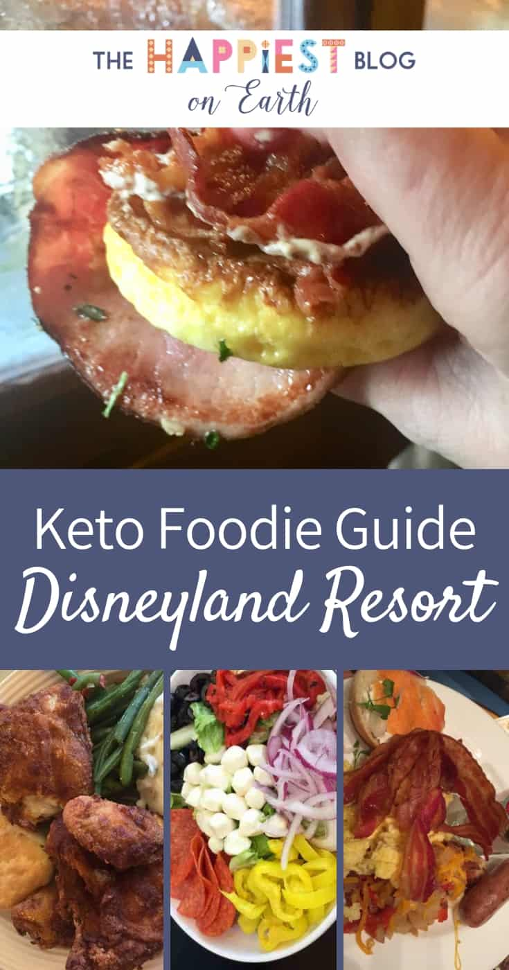 Disneyland Keto Foodie guide, get the fuel you need for a Keto Disneyland day and stay on track with your goals. Keto food ideas from every restaurant at Disneyland Resort. #KetoFood #KetoDisney #KetoDisneyland #DisneylandFood