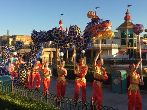 Mulan Procession
