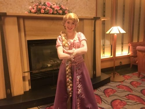 Princess breakfast Rapunzel