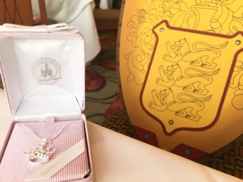 disneyland princess breakfast gift