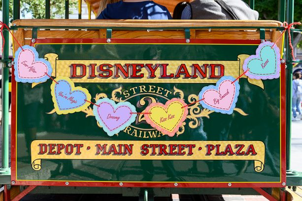 Disneyland valentine