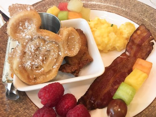 princess breakfast disneyland