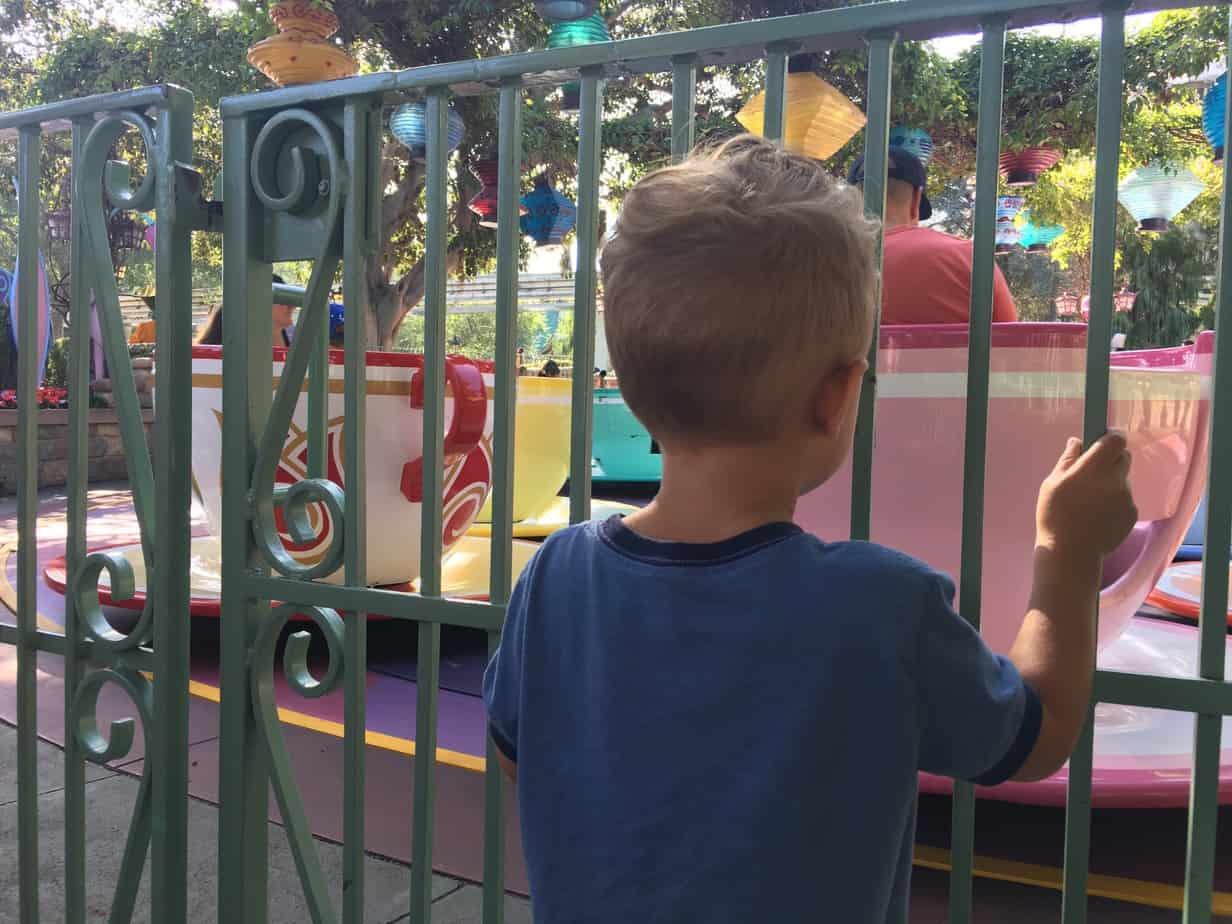toddler ride guide disneyland