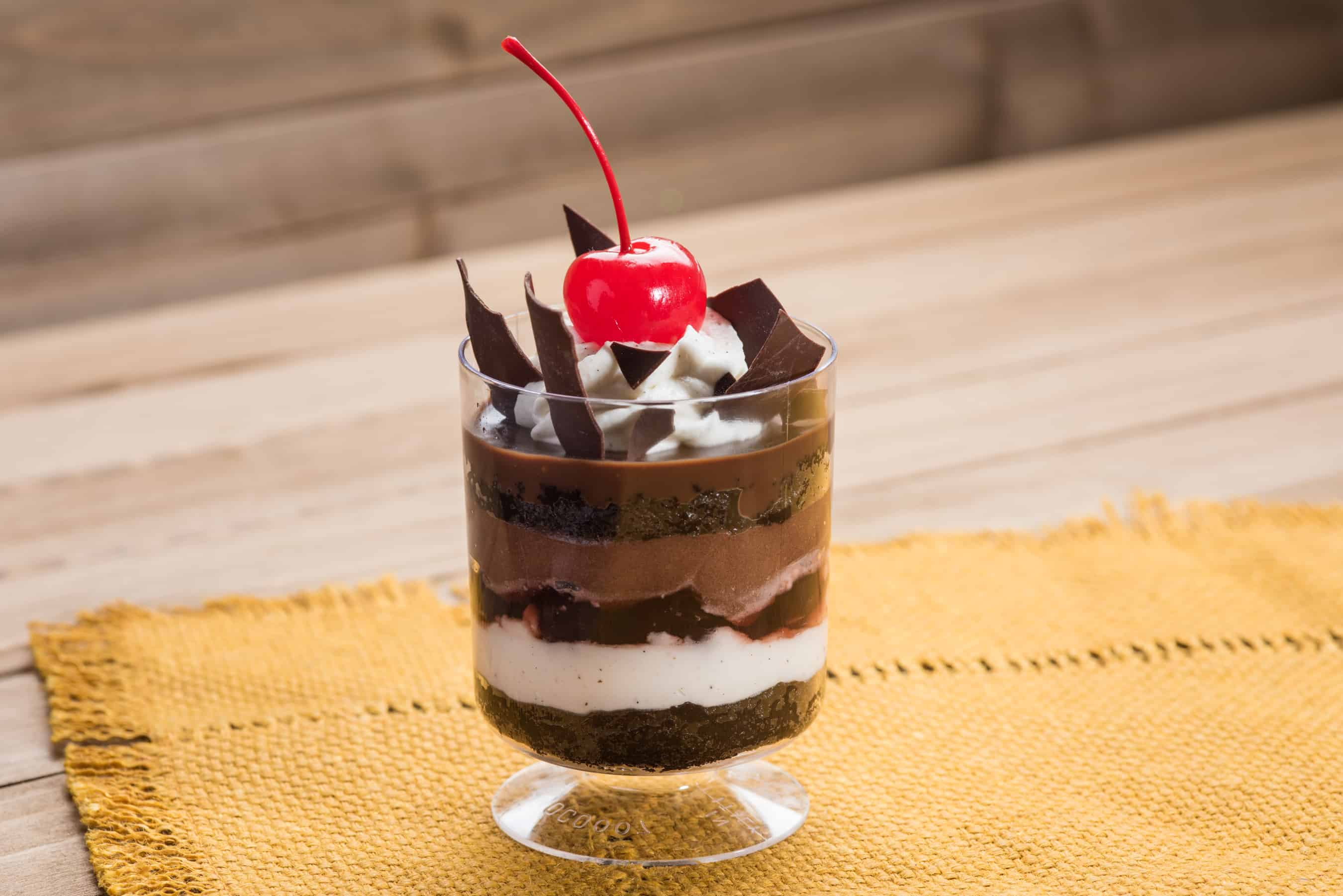 Food & Wine Dessert Black Forest Parfait
