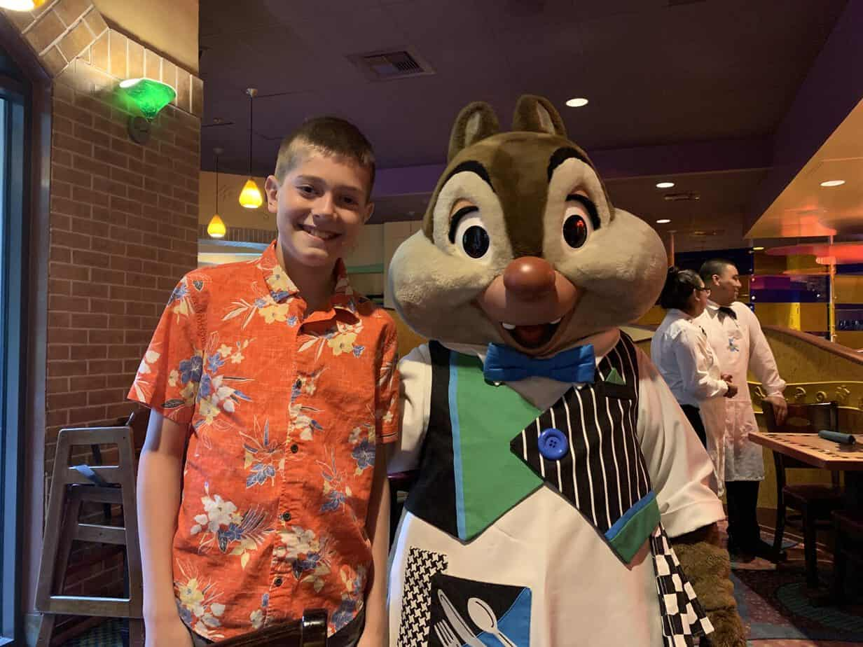 Goofys Kitchen chip and dale