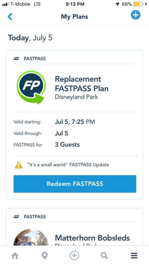 Replacement FASTPASS