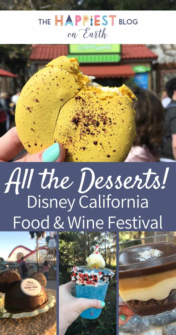 Disney Food and Wine Desserts