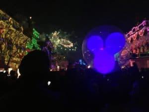 Disneyland fireworks main street