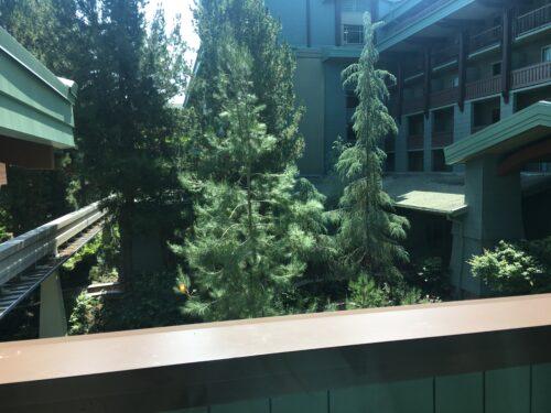 Grand californian woods courtyard view