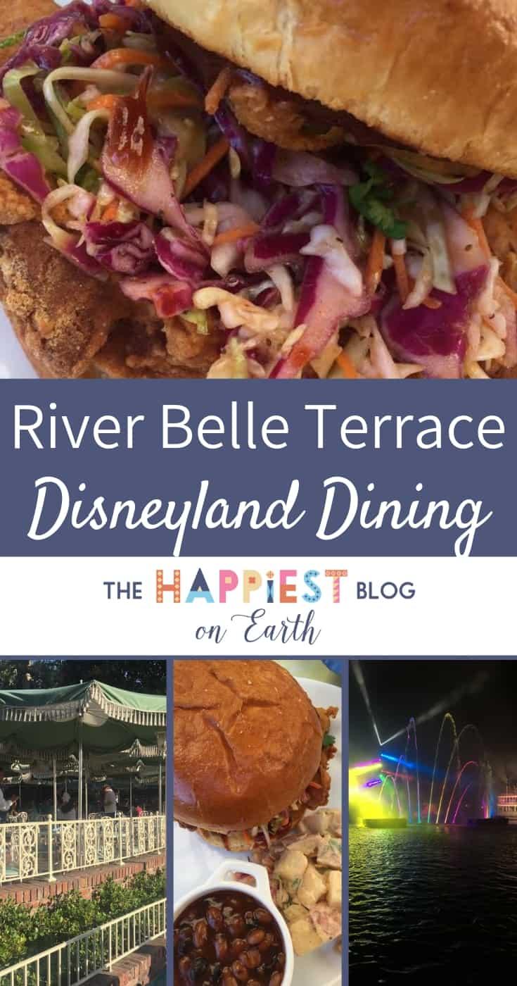 River Belle Terrace dining review at Disneyland Resort.