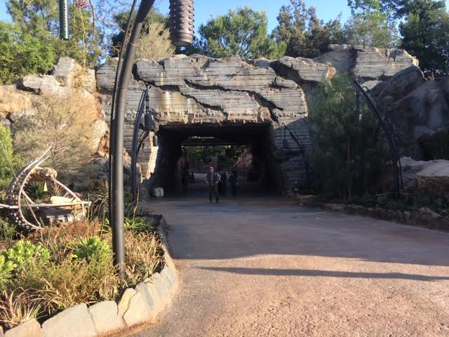 Star Wars Land entry