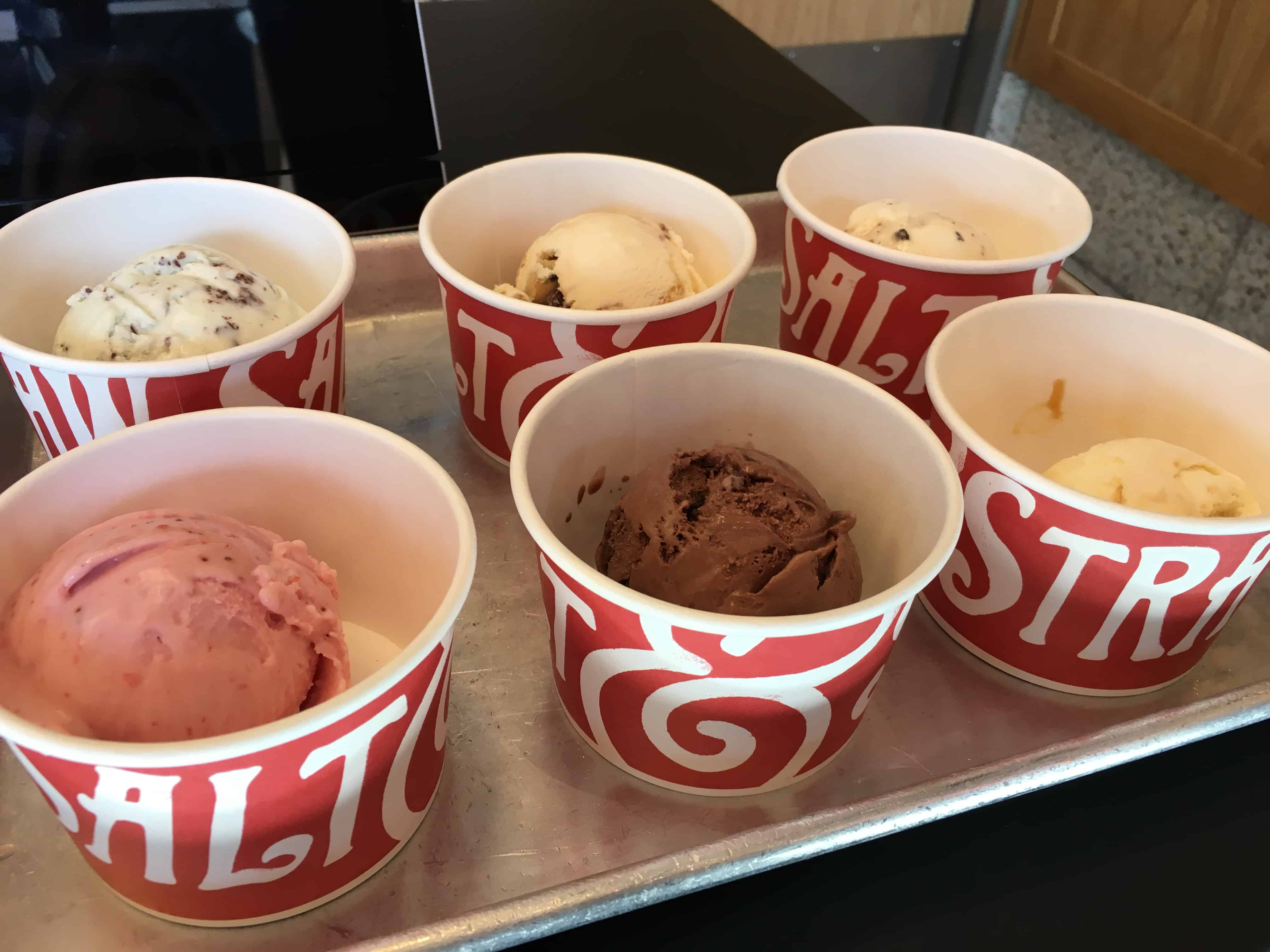 salt and straw samples