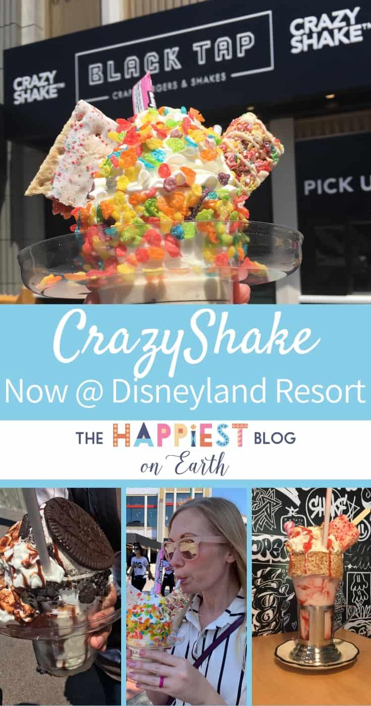 CrazyShakes at Disneyland