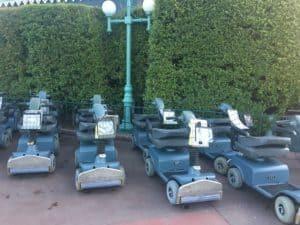 Disneyland scooters
