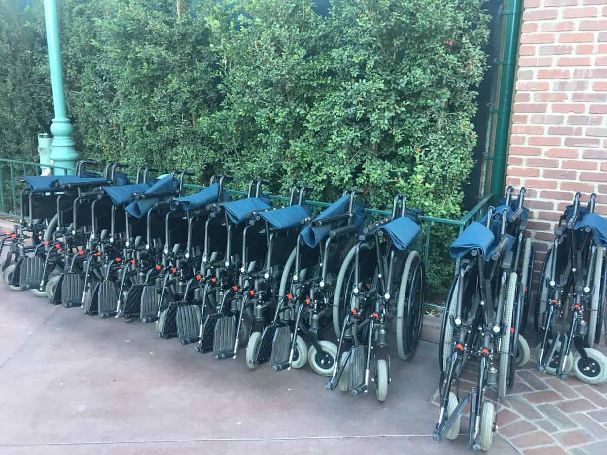 Disneyland wheelchair