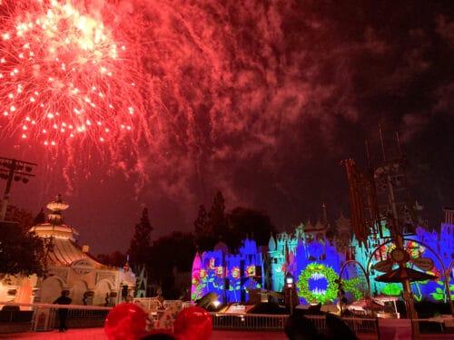 Halloween fireworks disneyland