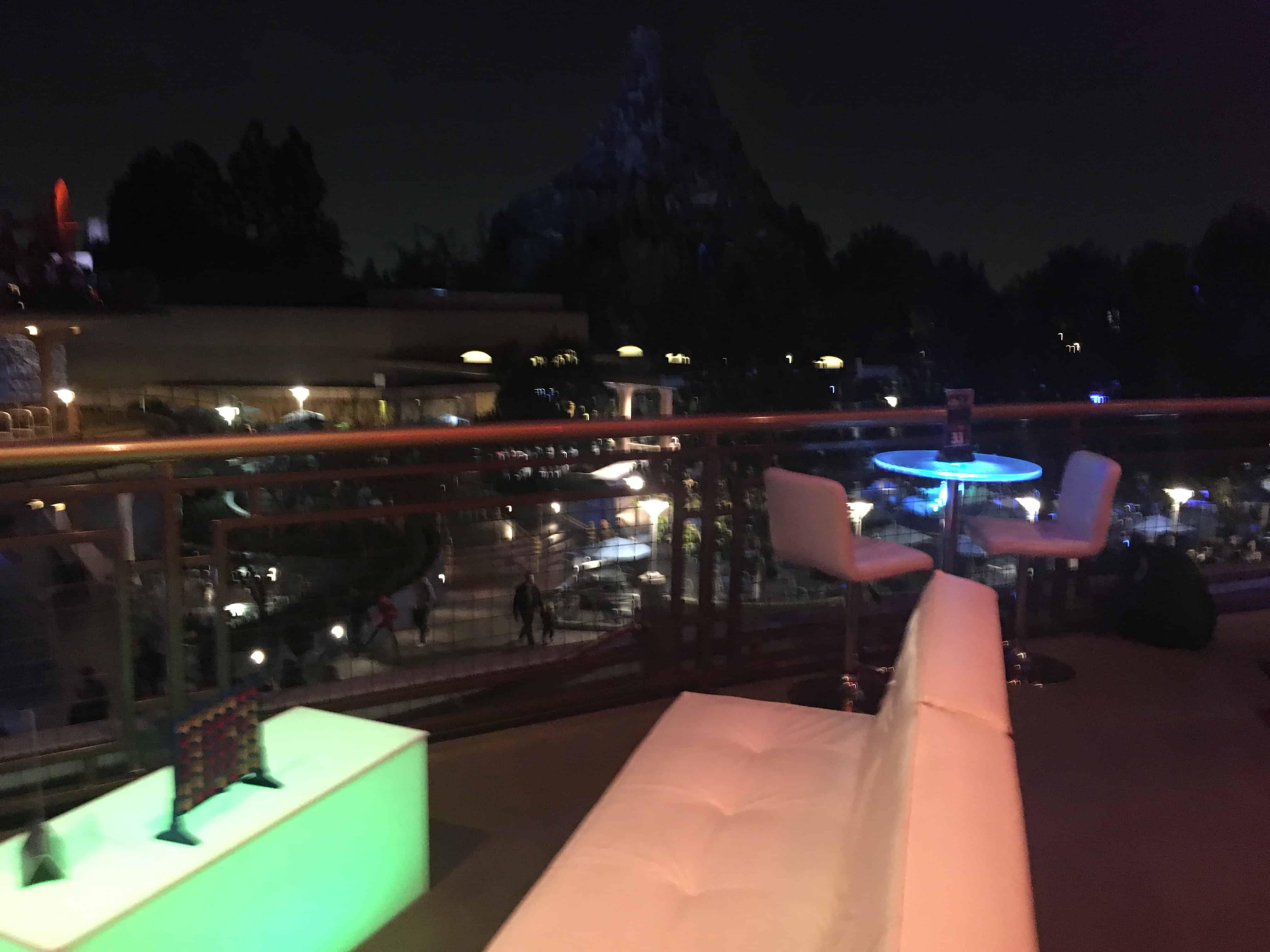 fireworks seats Disneyland