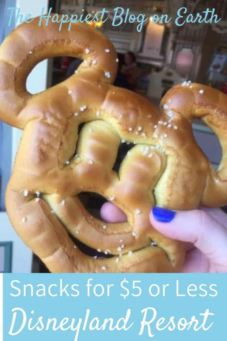Disneyland snacks