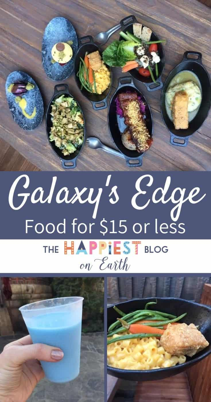 Galaxys Edge Food