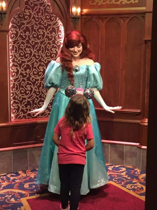 Disneyland Princess meet