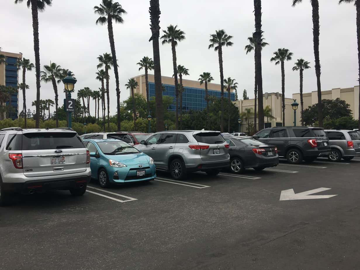Disneyland Hotel Parking