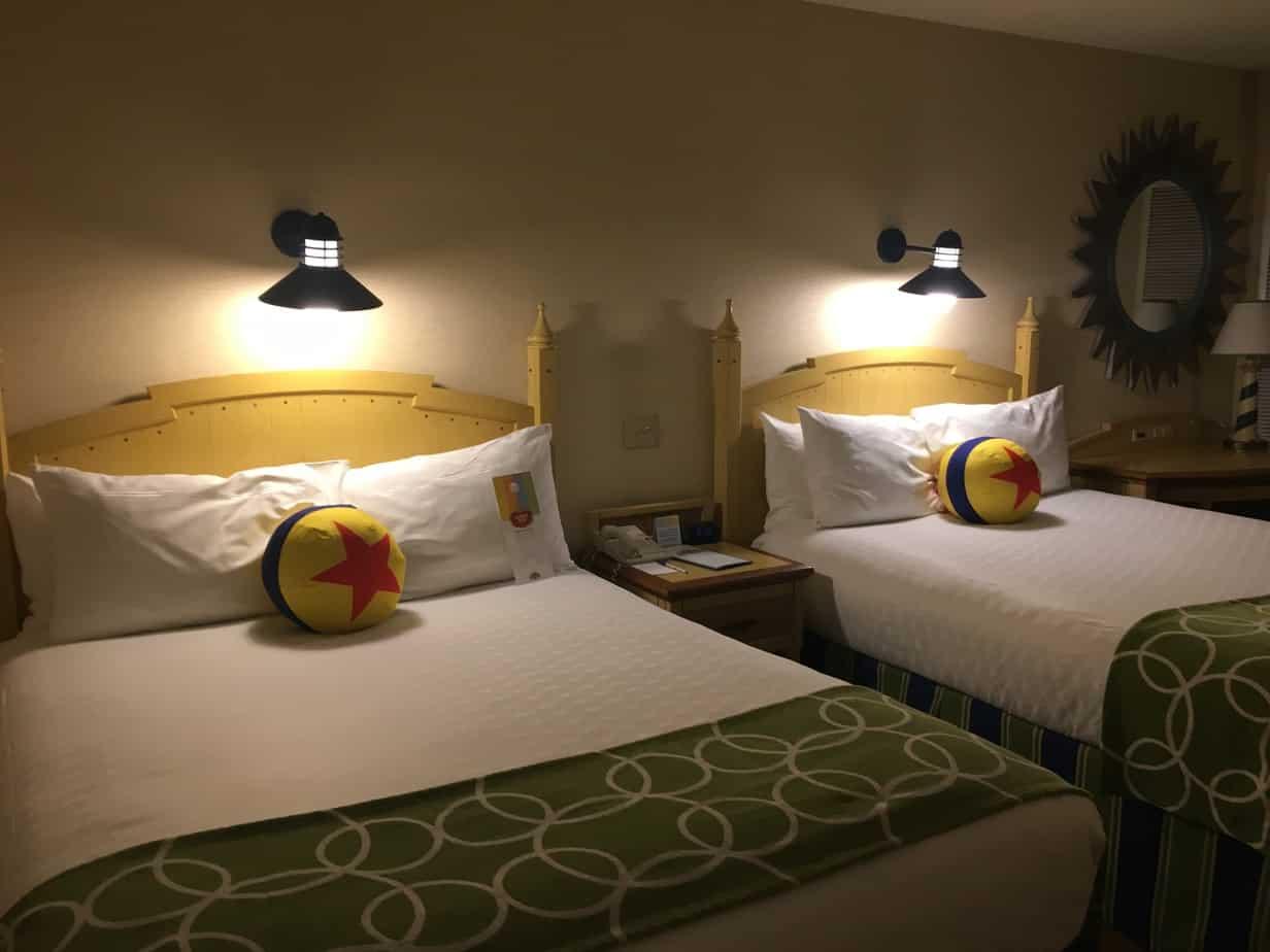 Disneyland Paradise Pier Hotel Room