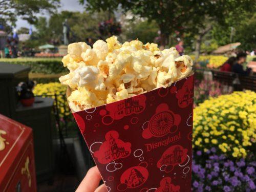 Disneyland popcorn