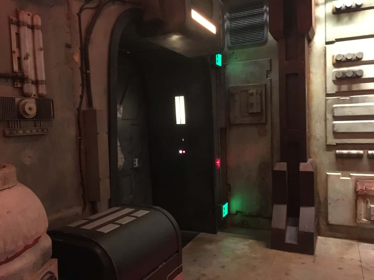 Millennium Falcon rooms