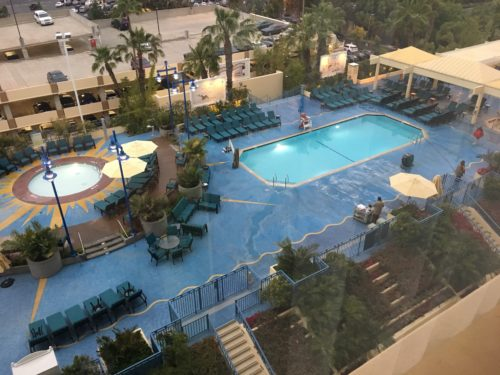 Paradise Pier Hotel room view