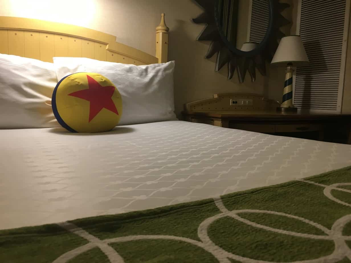 Paradise Pier hotel pillow