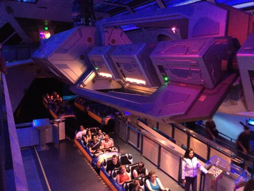 Space Mountain seats