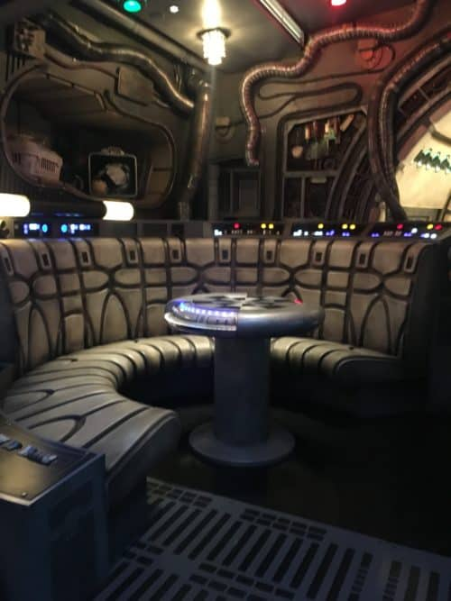 Star Wars land chess room