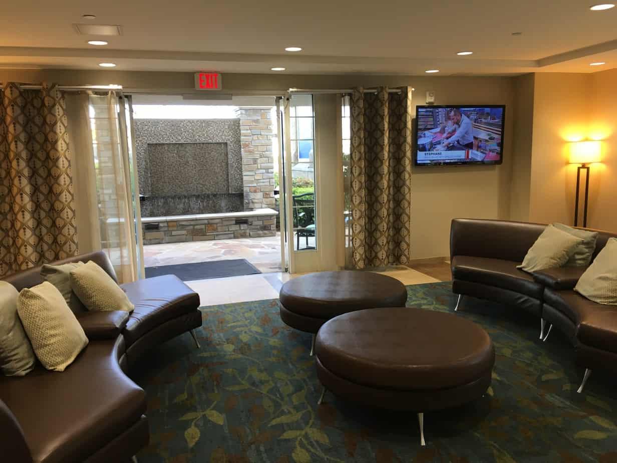 candlewood suites disneyland lobby